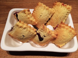 Mini Blaubeer Pies