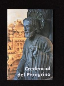 Credencial Camino de Santiago