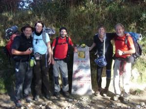 Camino Freundschaften: the Fab5