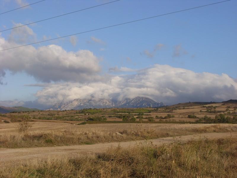 Gigantische Natur auf dem Camino
