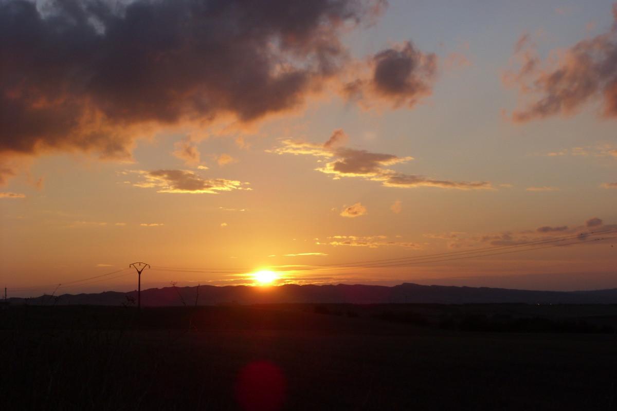 Camino Sonnenaufgang