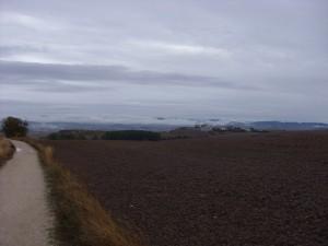 Jakobsweg - Weiter Blick