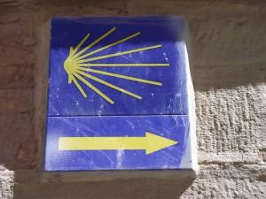 Jakobsweg - Zeichen